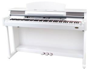 E-Piano weiß Hochglanz