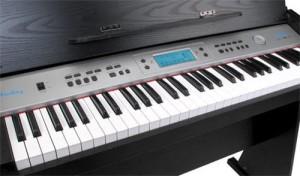 Optik eines Klaviers