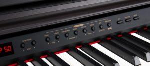 Tasten eines elektrischen Keyboards