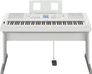 Yamaha DGX-650WH Digital Piano